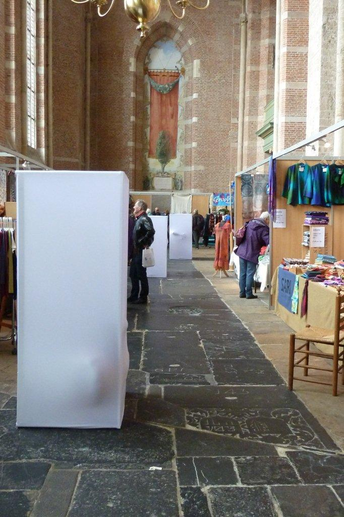 Deventer, Textiel plus kunstdagen, 2012 performance
