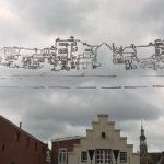 raamkrijttekening midden, 2017, boterdiep 63