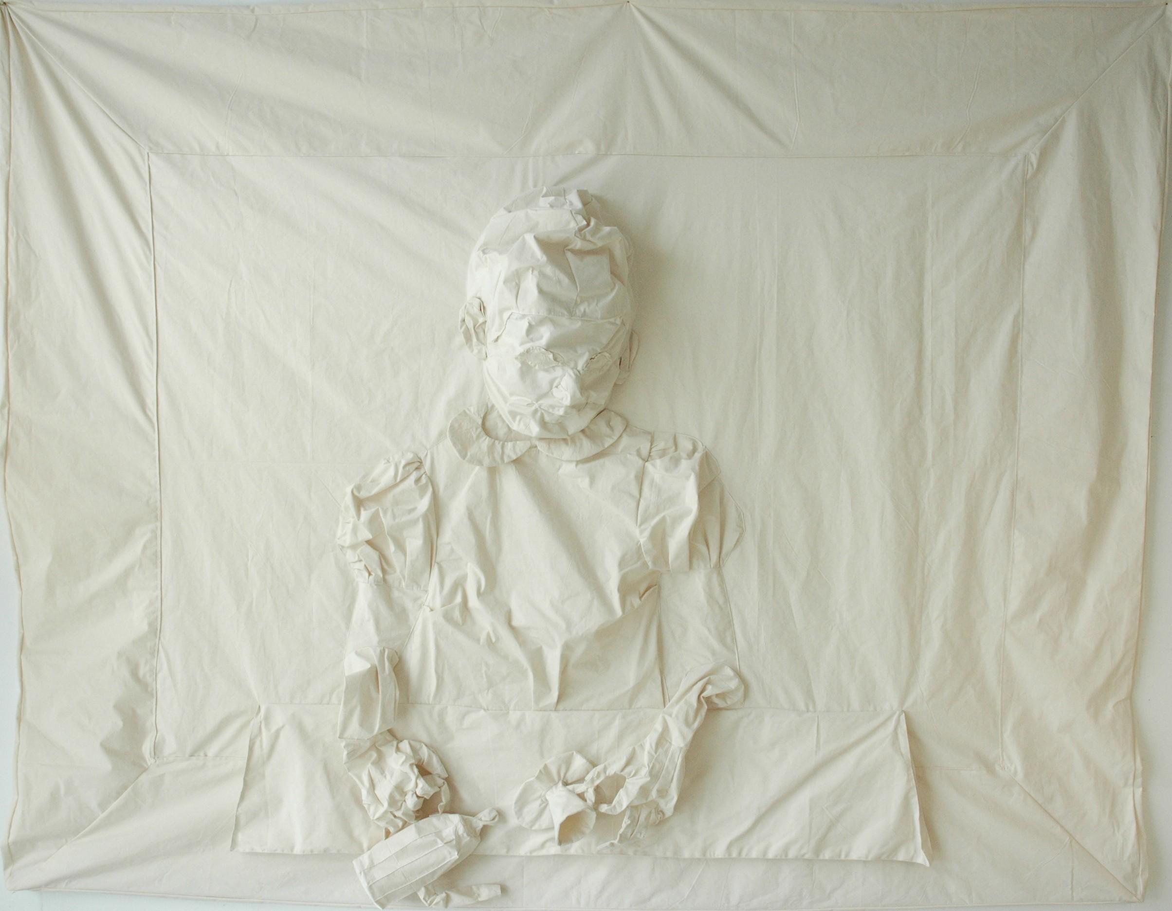 Schoolfoto, 2007, expositie Pictura Groningen, hxbxd 240x310x24 cm,