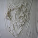 stoffen zelfportret, 2004  lxbxhx 265x340x20 cm