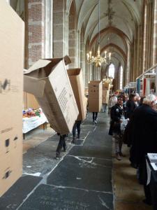 Deventer, Textiel plus kunstdagen, 2012 performance